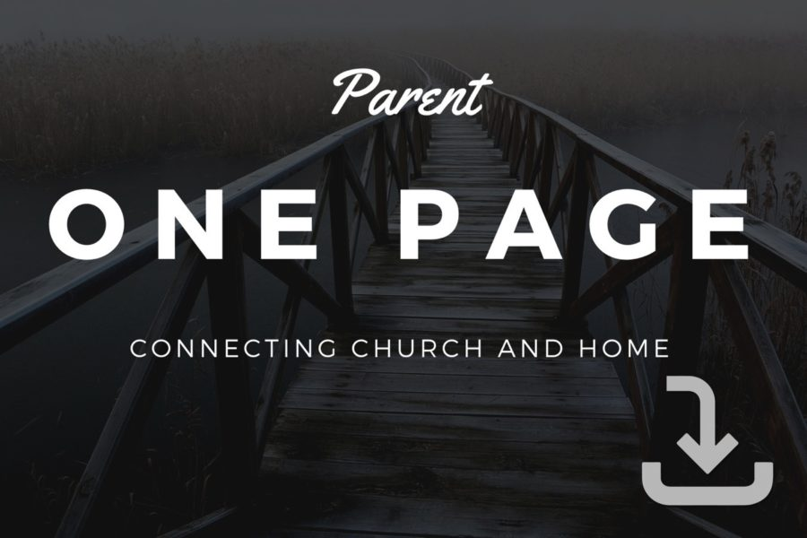 Parent One Page
